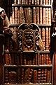 Francesco pianta il giovane, dossali e telamoni dela salone maggiore della scuola grande di san rocco, 1657-76, 06 libreria.jpg