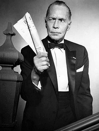 """The Silence (The Twilight Zone) - Franchot Tone in """"The Silence"""""""