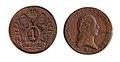 Francis II, Holy Roman Emperor 1 kreutzer 1800 25mm.jpg