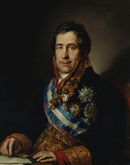 Francisco Tadeo Calomarde por Vicente López.