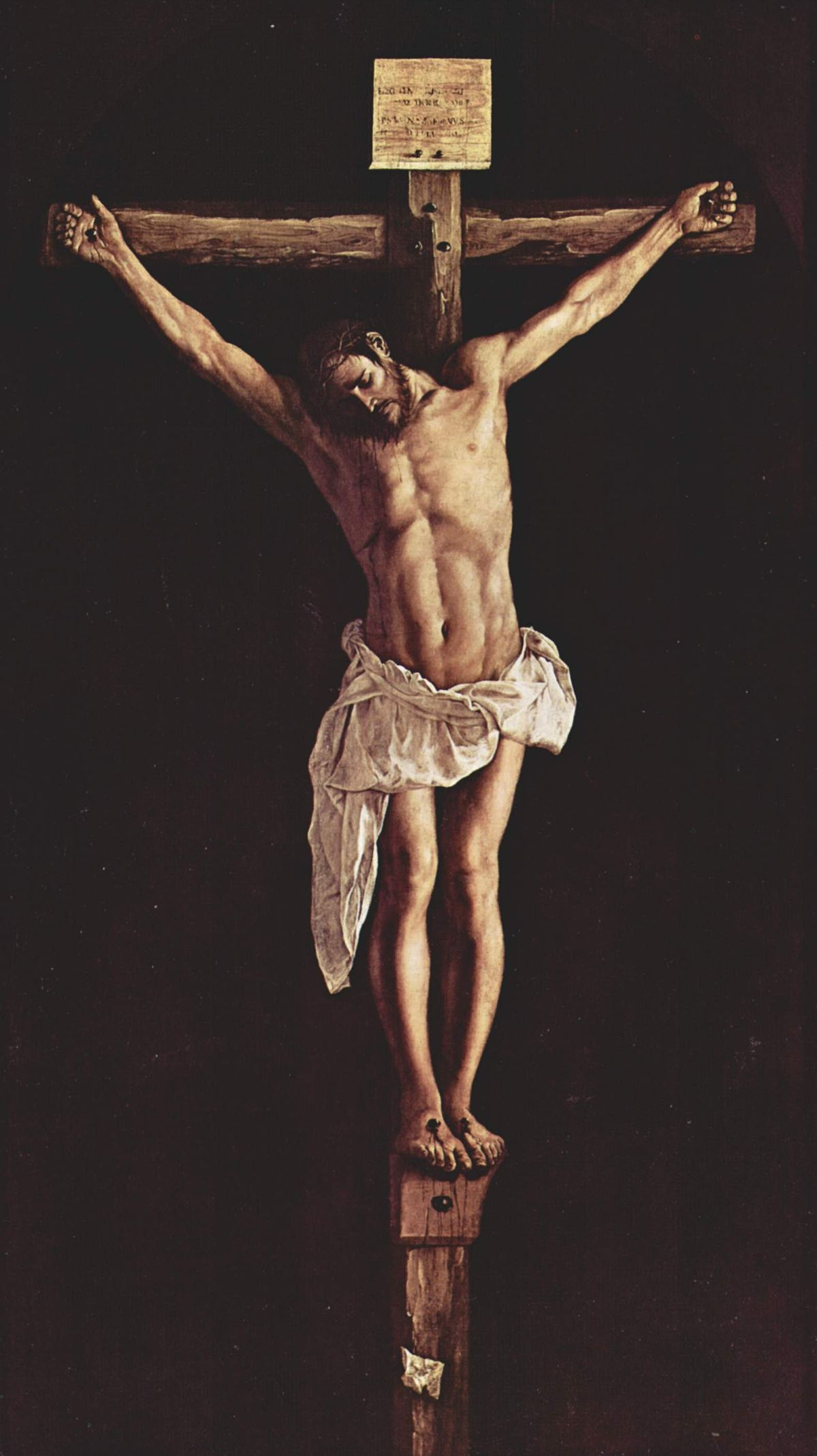 Francisco de Zurbaran - Crucifixion - The Art Institute of Chicago.jpg