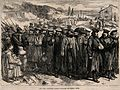 Franco-Prussian War; wounded german soldiers on their way ho Wellcome V0015472.jpg