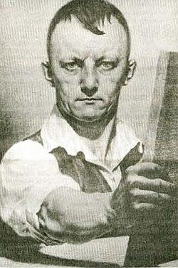Franjo Kopač, Avtoportret 1921.jpg