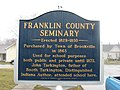 Franklin County Seminary historical marker.jpg