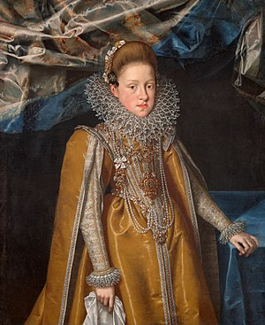 Archduchess Maria Maddalena of Austria - Image: Frans Pourbus d. J. 004