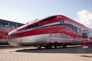 Frecciarossa 1000 - Rail car at InnoTrans 2014