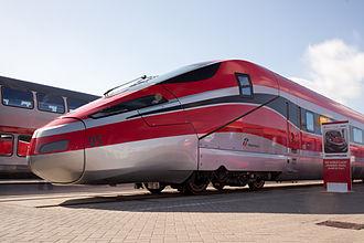 Frecciarossa 1000 - Rail car at InnoTrans 2014