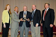 Fred Haise Ambassador of Exploration Award.JPG