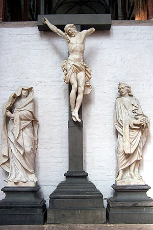Thomas Quellinus - Crucifixion (fragment) of the High Altar of St. Mary's Church, Lübeck