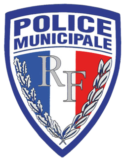 French local police of towns and cities