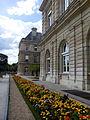 Frente del palacio del Jardín de Luxemburgo, París, agosto de 2014.jpg