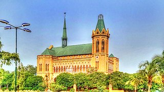 Frere Hall & Library Karachi