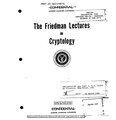 Friedman Lectures on Cryptology.pdf