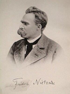 Deutsch: Bildnis Friedrich Nietzsches um 1885 ...