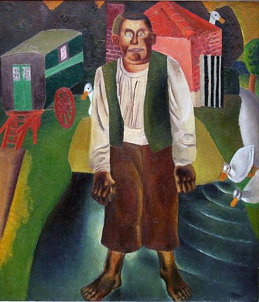 Frits Van den Berghe - De idioot bij de vijver
