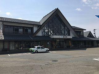 Fukuoka Station Railway station in Takaoka, Toyama Prefecture, Japan