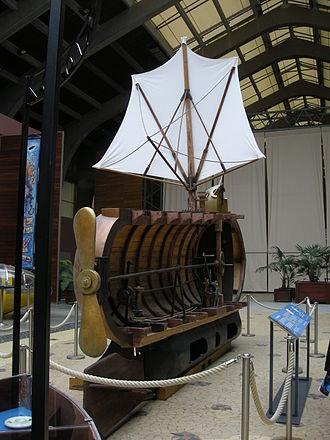 Nautilus (1800 submarine) - Image: Fulton Nautilus 1