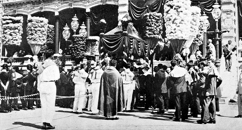 Funeral Procession of Liliuokalani - Final Journey