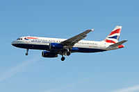 G-EUYN - A320 - British Airways