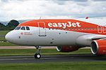 G-EZRG 1 Airbus A320-214S easyJet Airlines Company (Spirit of Manchester) MAN 13JUN17 (2).jpg