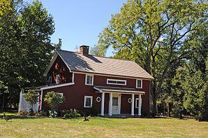 Garret K. Osborn House and Barn - Image: GARRET K. OSBORN HOUSE AND BARN, SADDLE RIVER, BERGEN COUNTY, NJ