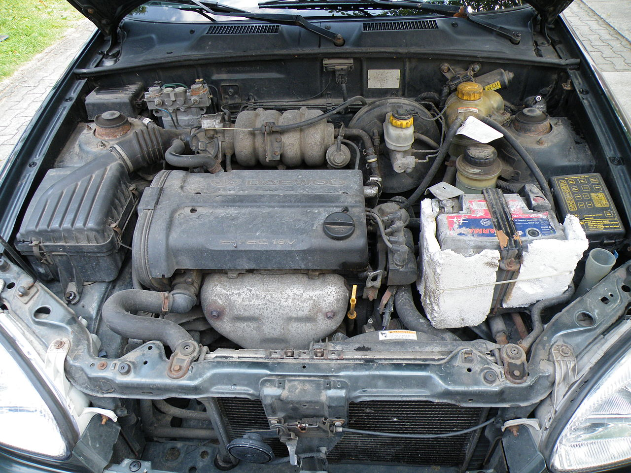 File Gm E Tec 1 5 16v Dohc Engine In Daewoo Lanos Jpg