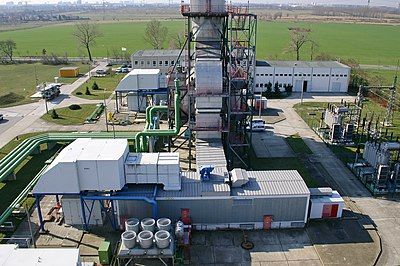 Picture of Gasturbinenkraftwerk Ahrensfelde