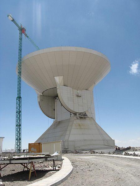 Resultado de imagen para Telescopio Milimétrico