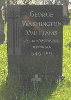 George Washington Williams - George Washington Williams' grave