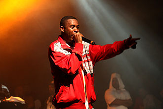 GZA - GZA performing at Paid Dues in New York City, 4 June 2008