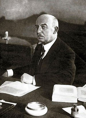 Gabriel Narutowicz - Narutowicz in his office, just days before the assassination