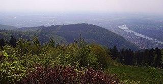 Gaisberg (Heidelberg) mountain in Germany
