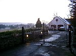 Gallowmuirhead Farm at Dusk on Christmas Day.