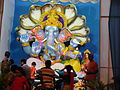 Ganesh at main road. v.puram.JPG