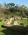 Garden wall, Mappercombe Manor (geograph 5318864).jpg