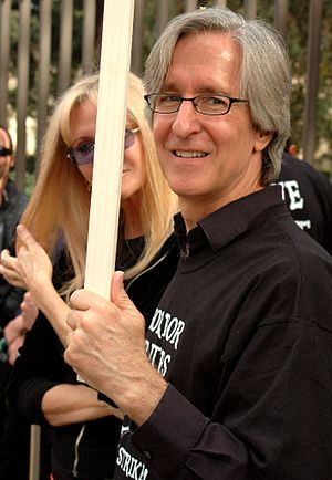 Mick Garris - Mick Garris during the 2007 Writers Guild of America strike