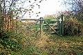 Gateway, Trenewydd Lane, Llanteg - geograph.org.uk - 1060494.jpg