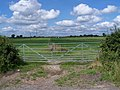 Gateway Near Coton-In-The-Elms - geograph.org.uk - 1393950.jpg