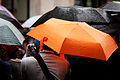 Gay pride - Orange umbrella (14348388210).jpg
