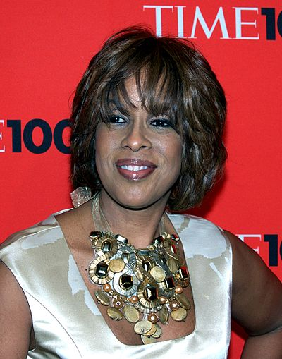Gayle King, American television personality and journalist