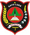 Official seal of Gayo Lues Regency