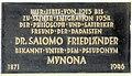 Gedenktafel Johann-Georg-Str 20 Salomo Friedlaender.JPG