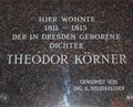 Gedenktafel Theodor Körner (1791-1813) Wien 3.tif