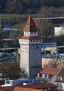 Gemalter Turm von der Veitsburg.jpg