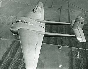 General Airborne Transport XCG-16 - The MC-1 in flight