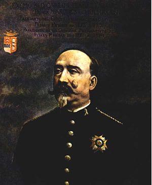 Carlos Ibáñez e Ibáñez de Ibero - Portrait of Carlos Ibáñez e Ibáñez de Ibero in 1881