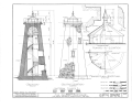 Genessee Lighthouse, Lake Avenue, Rochester, Monroe County, NY HABS NY,28-ROCH,10- (sheet 2 of 4).png
