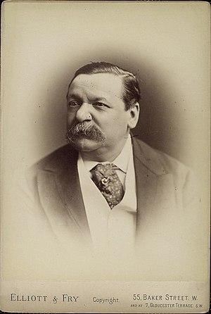 Ascot tie - George Augustus Sala, British journalist; after 1863