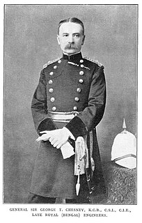 George Tomkyns Chesney British Army general