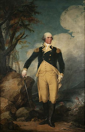 Government House (New York) - Portrait of George Clinton painted by John Trumbull in 1791
